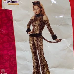 Luscious Leopard Adult Costume Small
